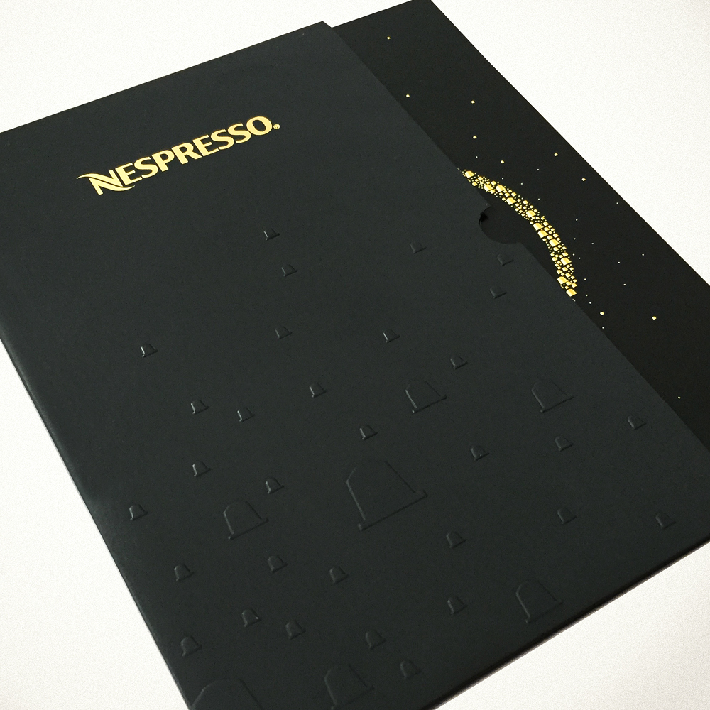 Nespresso Custom Invitations