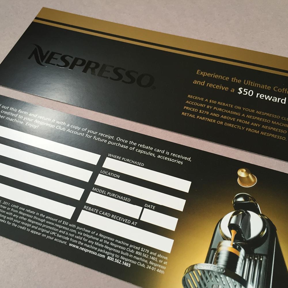 Nespresso Brochures