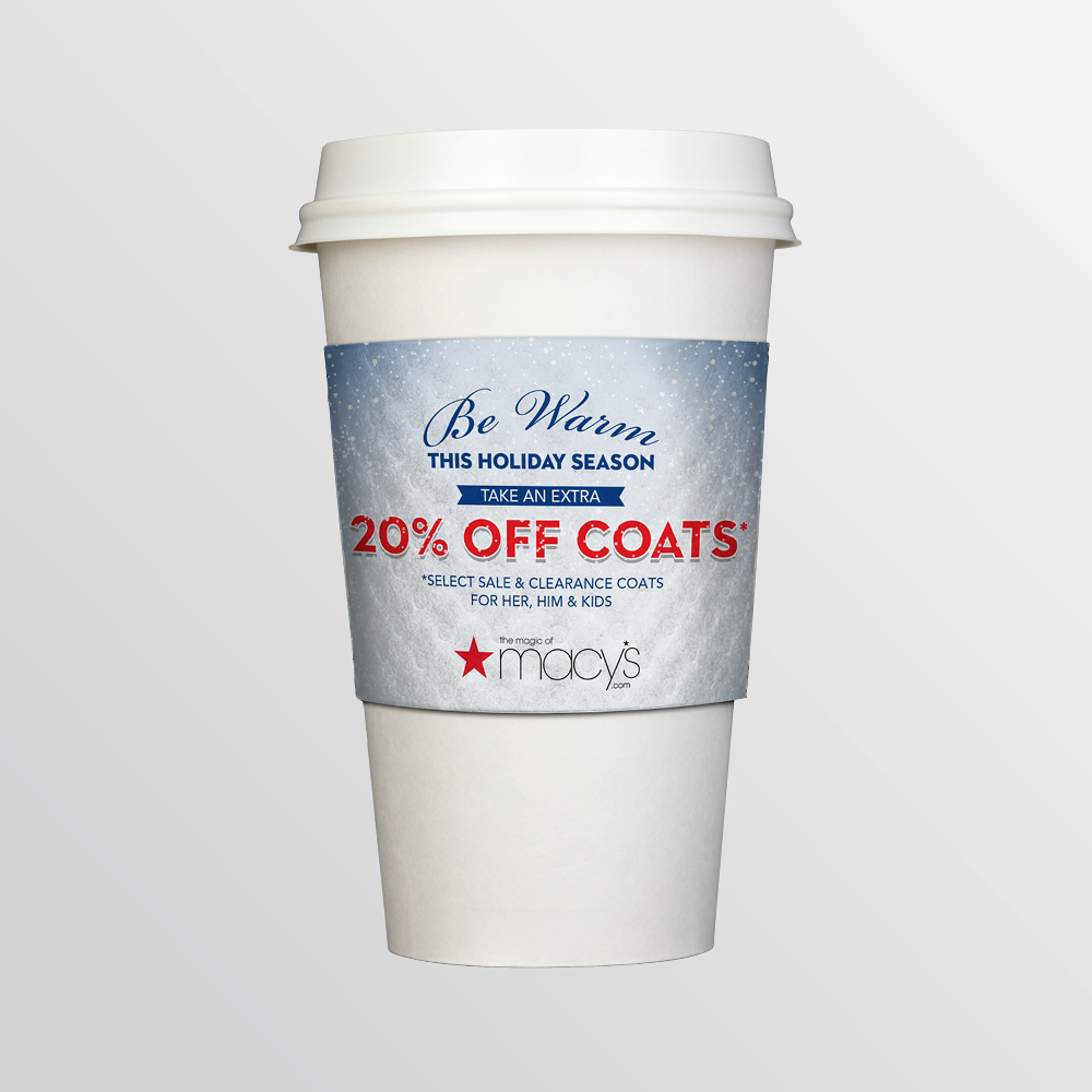 Macy's Coffee Sleeve Concepts