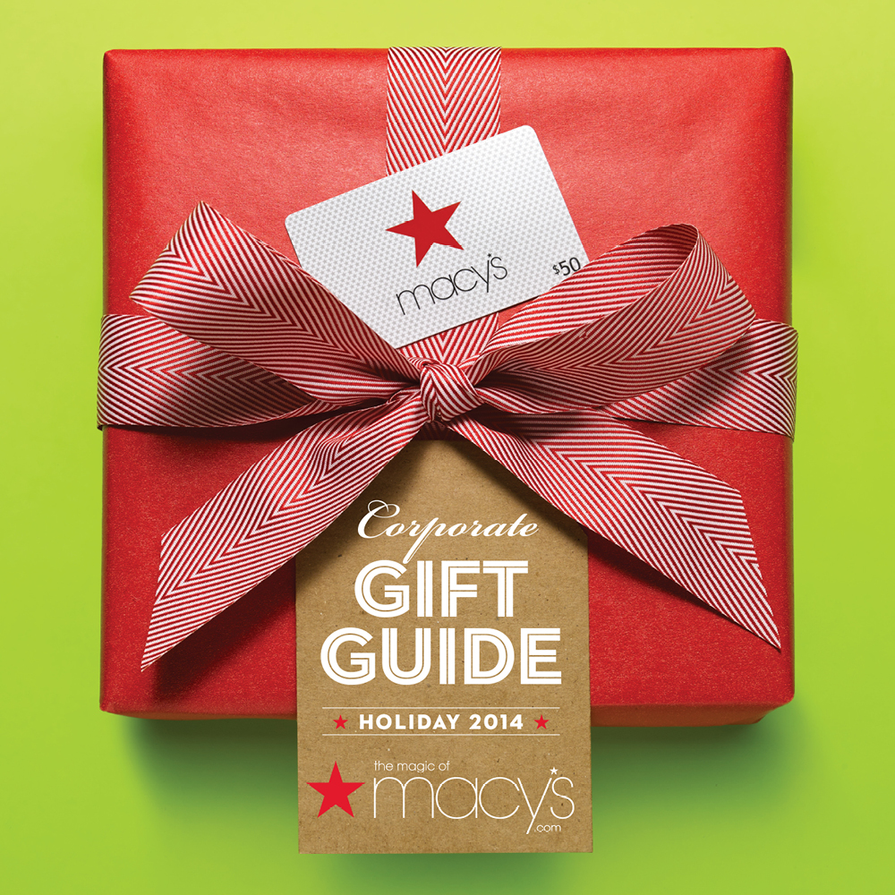 Macy's Corporate Gift Guide